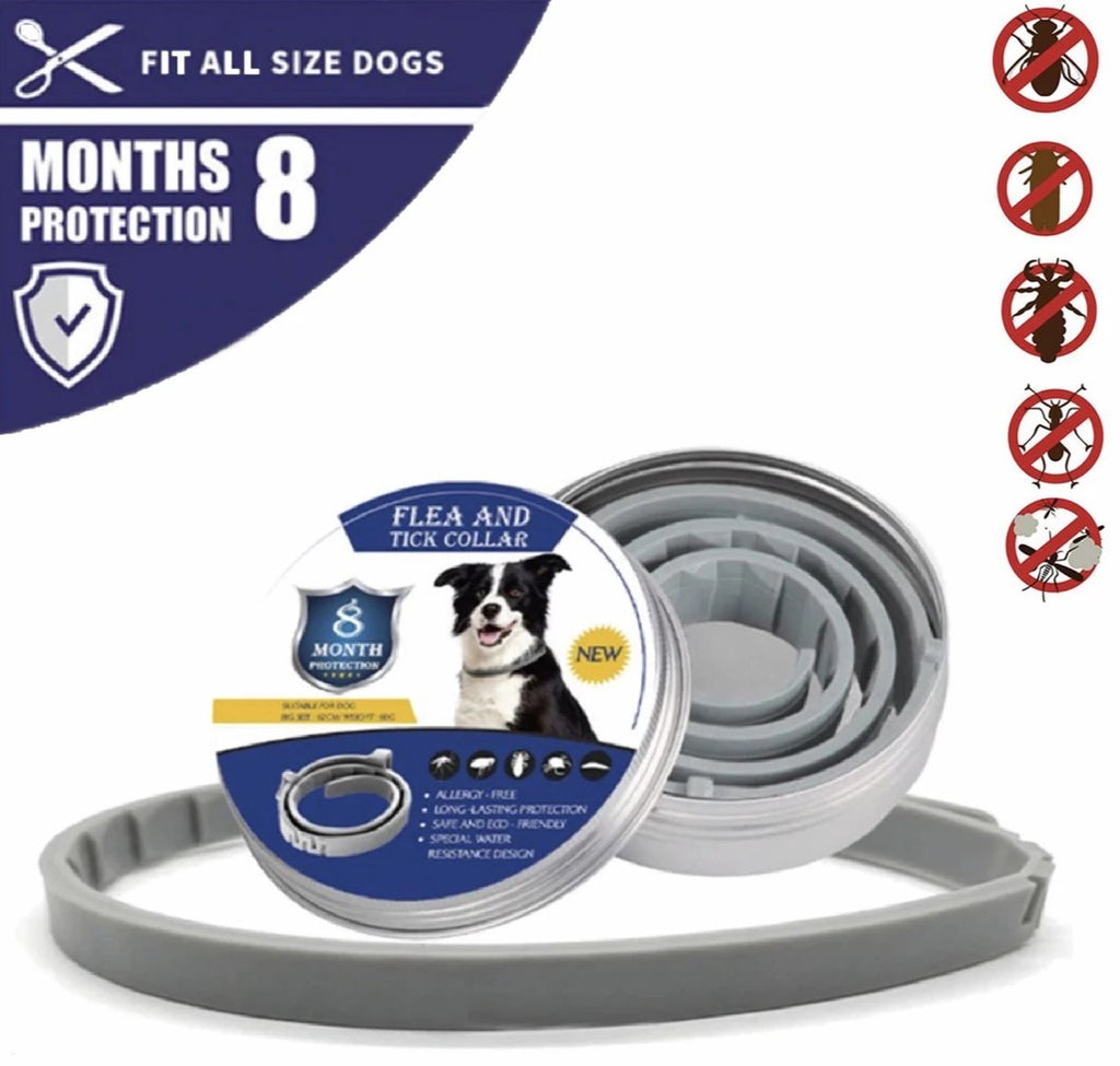 Flea and Tick Collar for Dogs - 8 Month Protection