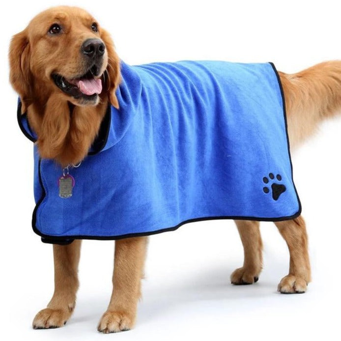 Doggy Snuggy Bathrobe