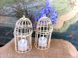 Candle Holder Birdcage Votive 3