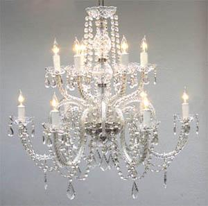 Chandelier Chateau Crystal 27
