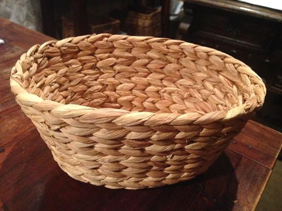Bread Basket Braided Seagrass Oval