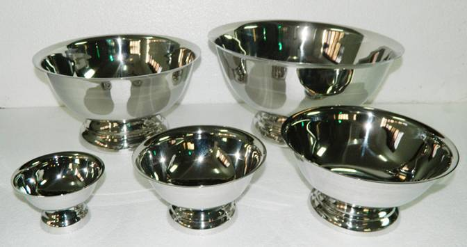 Serving Bowl- Revere Stainless Salad Bowl 10.5