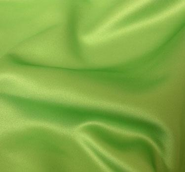 Lamour Apple Green 8' Tabledrape 90