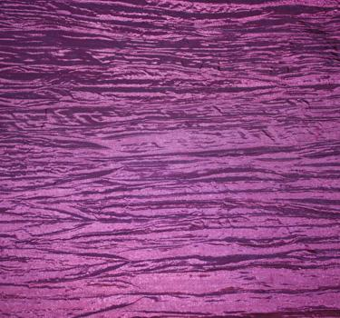 Crinkle Taffeta Grape Chair Sash