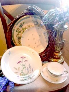 China Shabby Chic Mix/Match Saucer