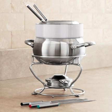 Fondue Pot/Sterno/3 Quart