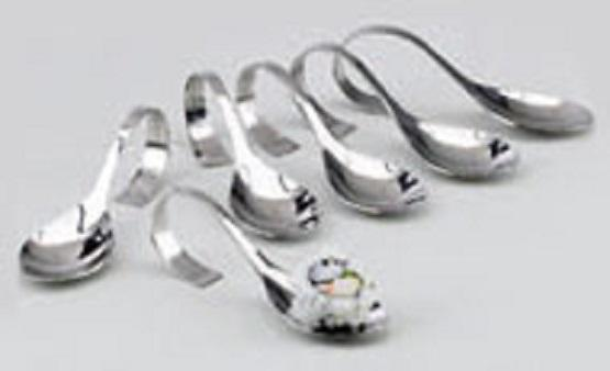 Appetizer Spoon Stainless Oval