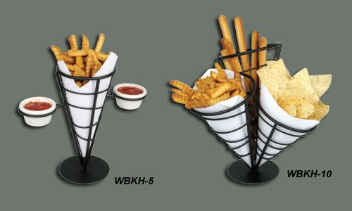 Basket Wire French Fries & Condiment Holder