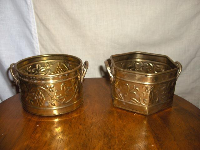 Candle Holder Brass W/ Votive