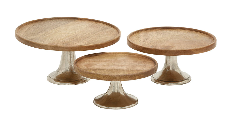 Cake Stand Restoration Mercury And Wood 10