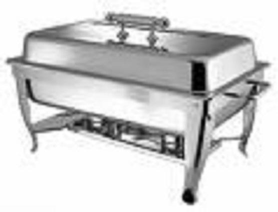 Chafing Dish Rectangular 8 Qt Stainless Set