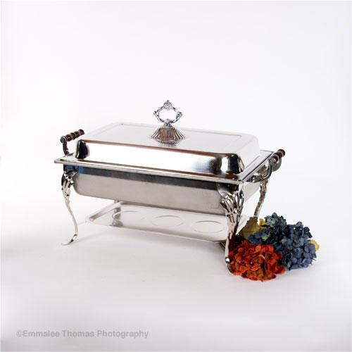 Chafing Dish Sculpted 8Qt Set