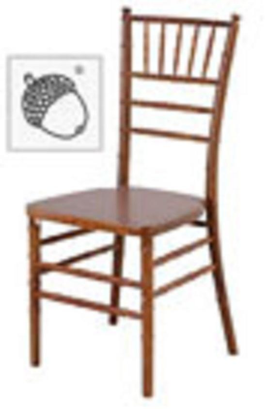 Chair Chiavari Fruitwood/Cushion Added Separately