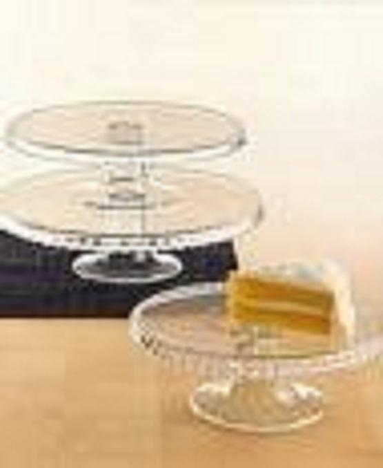 Cake Stand 3 Tiered Glass