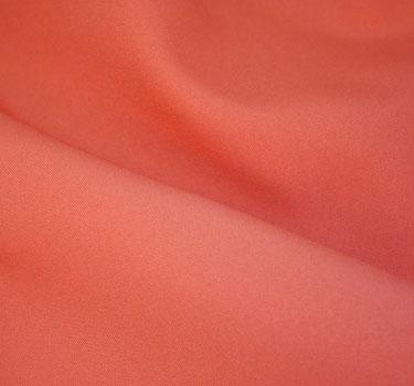 Coral 6' Serpentine Tabledrape Poly Solid Linen
