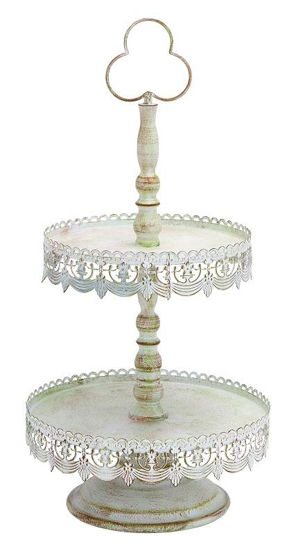 Cupcake Stand Lace Ivory 24