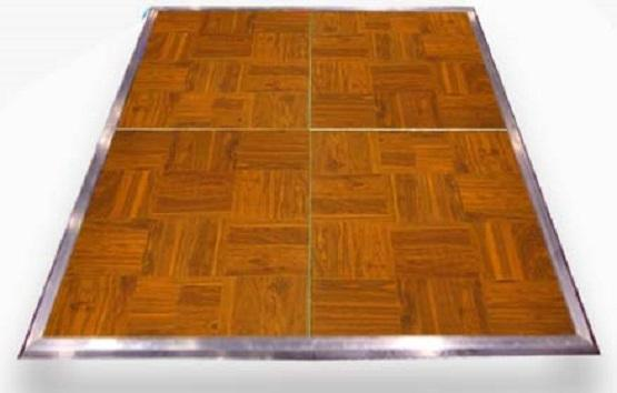 Dance Floor Wood Grain Vinyl Section 3'X4'