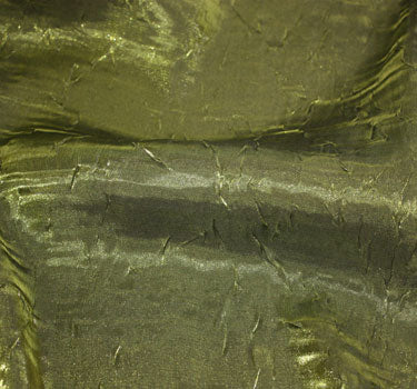 Crushed Iridescent Satin-Champagne