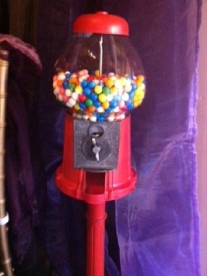 Gum Ball Machine Old Fashioned No Gumballs Incl