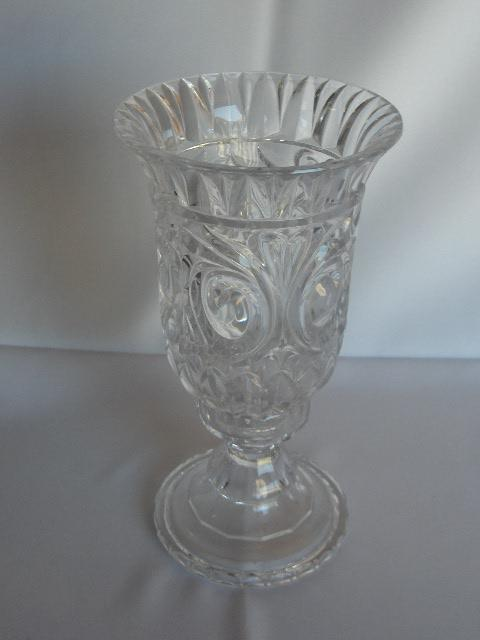 Candle Holder Crystal Hurricane