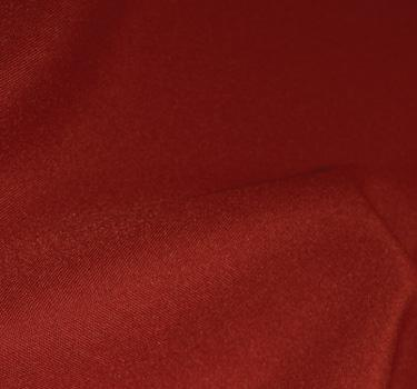 Red 8' Banquet Poly Solid Linen 60