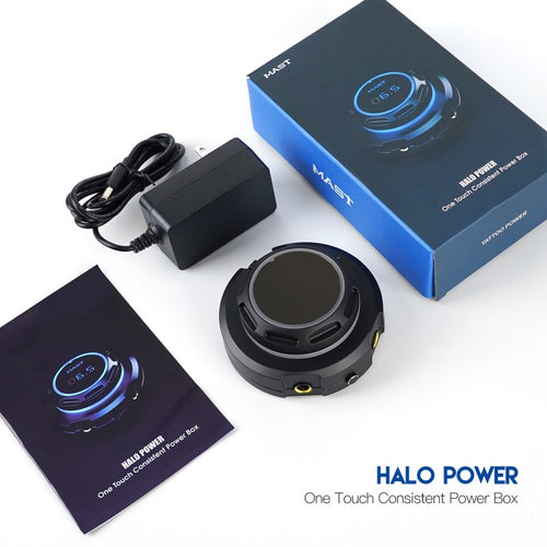 Dragonhawk Mast Halo Tattoo Power Supply Dual Mode Start-Up for Tattoo Machines