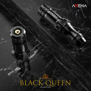 Arena Black Queen Rotary Tattoo Pen Machine