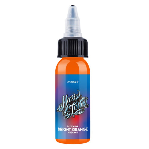 Mast Ink Bright Orange 1OZ