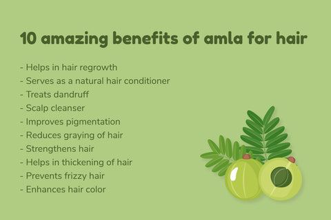 Benefits of Amla for Hair