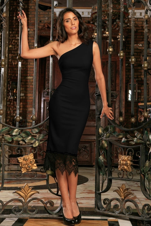 Black Stretchy Trendy Party Must-Have Chic Mommy