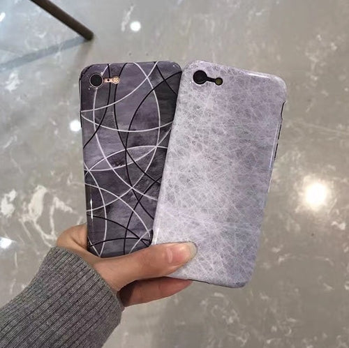Marble Slim Soft TPU Case For iPhone
