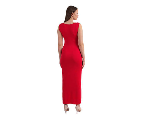 Sexy Women Long Red dress Dress