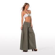 Elegant summer pants in pure cotton