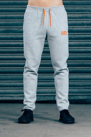 CozyFit Bottoms - Grey & Orange