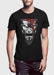 God Of War Half Sleeves T-shirt