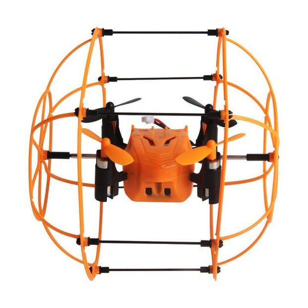 Helicopter Mini Drone Helic Max Sky Walker 1336 2.4GHz 4CH RC Quadcopter 3D Flip Climbing Roller Headless Drone RC toys