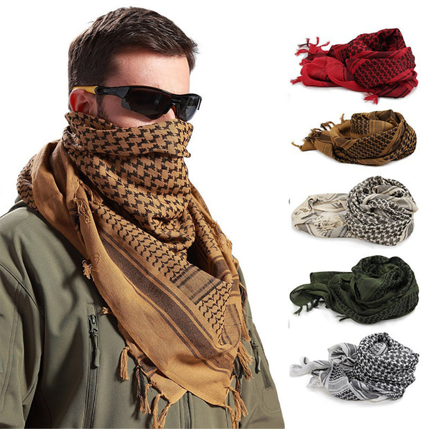 Outdoor Sports Male Mask Scarf for Head Neck Tactical Hiking Men