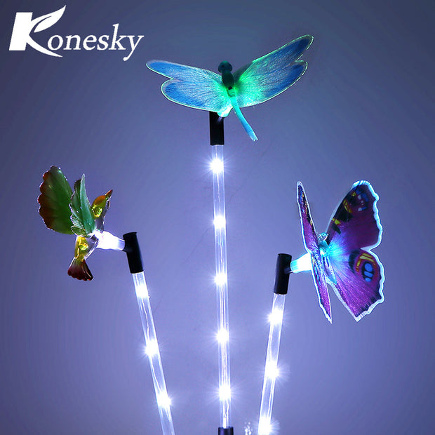 Multi-color Solar Garden Light LED