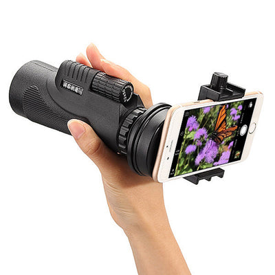 Camera Zoom Lens with Tripod Phone Clip Clasp