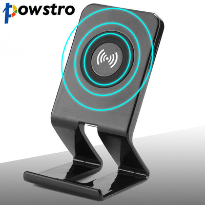 Powstro Wireless Charger Qi Coil Wireless Charging Stations 5V 1500mA Phone Charger Stand For Samsung Note5 S6/S6 Edge/ S6