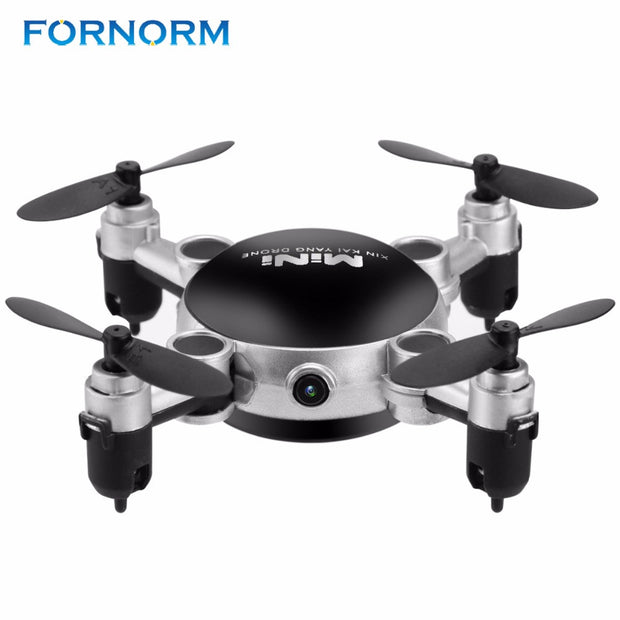 KY901 Mini Wifi RC Quadcopter Drone with Camera 2.4G 4CH 6-Axis Gyro 360 Degree Roll Foldable Aircraft Helicopter 0.3MP Camera