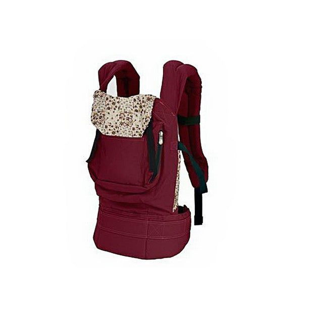 Multi-functional Adjustable Front /Back Cotton Baby Carrier Infant Comfortable Backpack Sling Wrap with Hood