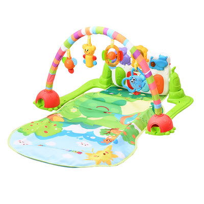 Jungle Piano Kick and Play Musical Gym for Baby Early Development