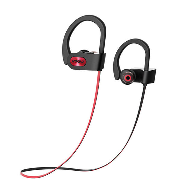 IPX7 waterproof Bluetooth Headphones noise canceling wireless headphone bluetooth 4.1 sports earphone earbuds with mic
