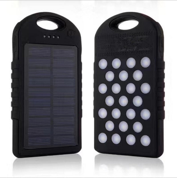 Solar Charger,10000mAh Portable Solar Power Bank