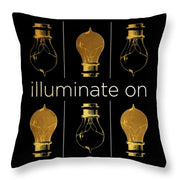 Shine And Illuminate II Throw Pillow