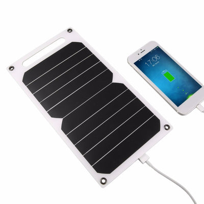 Solar Power USB Charger for Outdoor Mobile Smart Phone