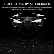 Foldable Mini Selfie Quadcopter Drone 2.4G 6 Axle WiFi FPV Drone 0.3MP HD Camera Altitude Hold Headless Mode RC Quadcopter