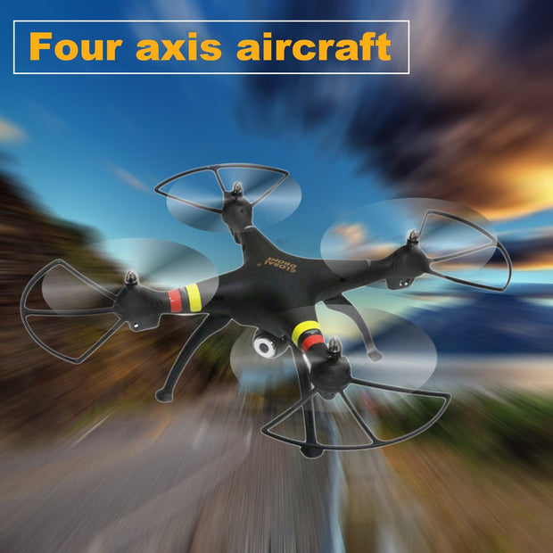 Mini Portable Four Axis Aircraft Aerial UAV RC Drone Stabilized Helicopter FPV Remote Control Quadcopter With Camera