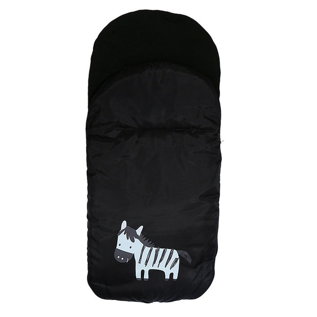 Baby Sleeping Bag Cartoon Zebra Envelope